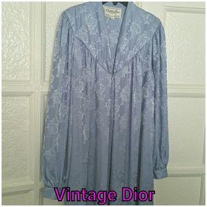 Vtg. Christian Dior Robe